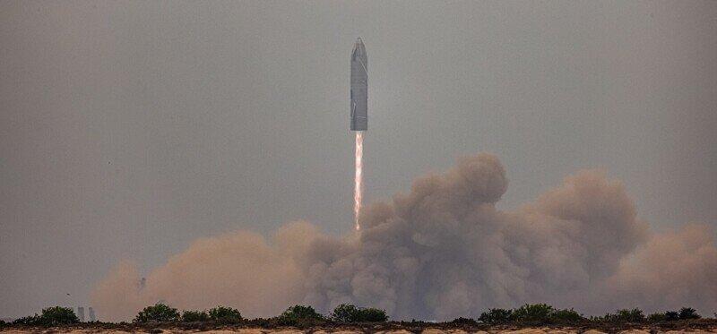 Прототип корабля Starship SN15 приземлился в Техасе