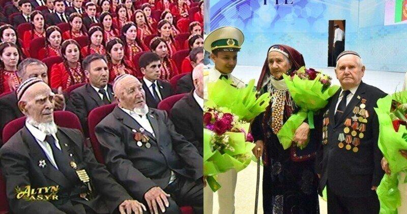 Туркменских ветеранов обязали сдать деньги на подарки себе к 9 мая