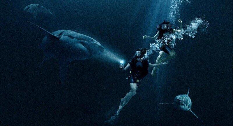 Фильм Синяя бездна (47 Meters Down) - это самая сказочная сказка про дайвинг