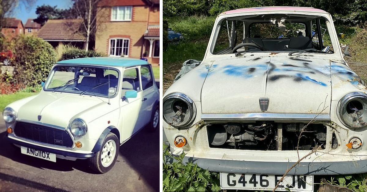 Британские хулиганы уничтожили коллекцию винтажных автомобилей Mini