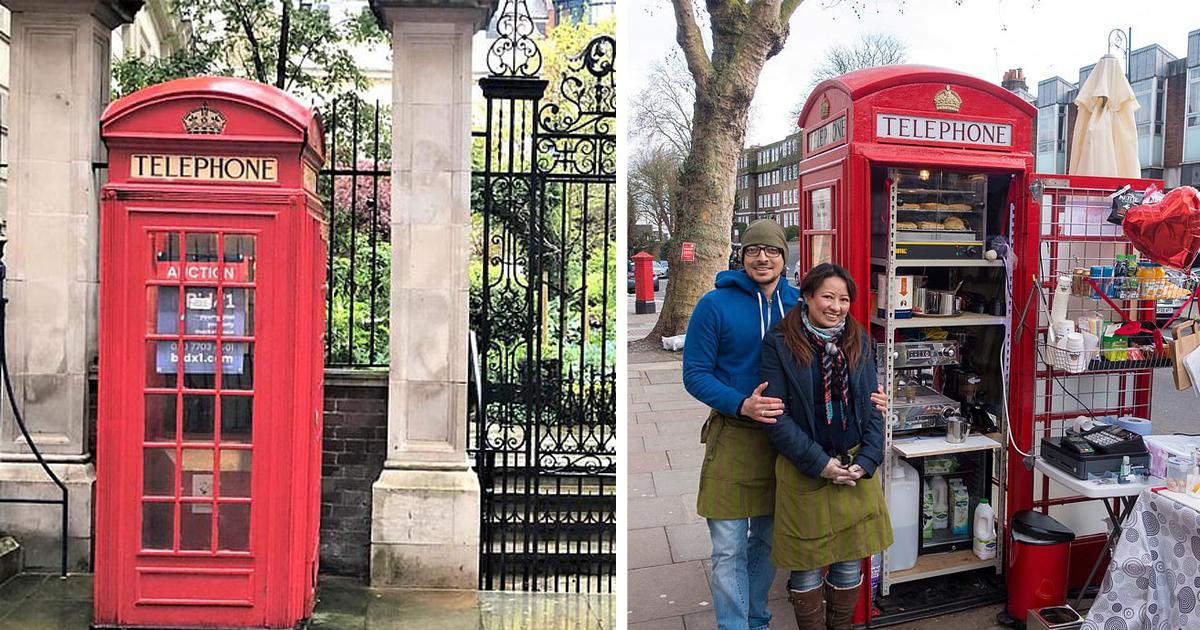 Красную телефонную будку в Лондоне продают по цене однушки в Москве