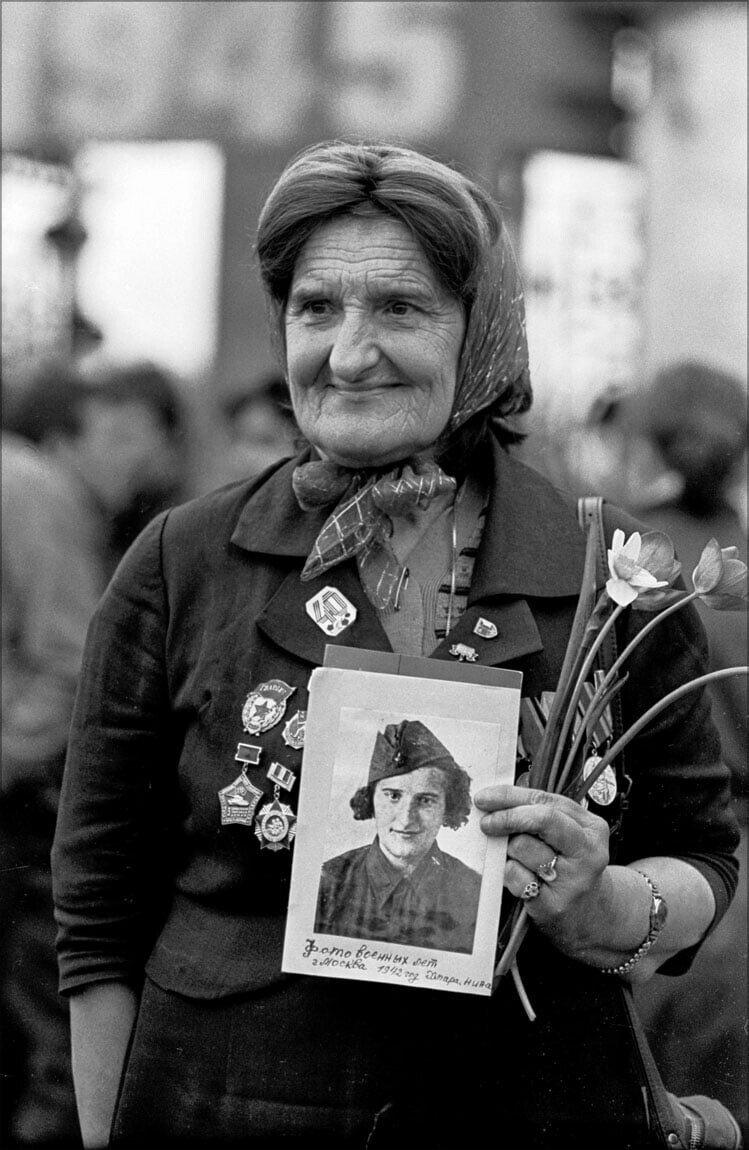 1985. «Встреча в парке. Москва». Фотографии Игоря Стомахина
