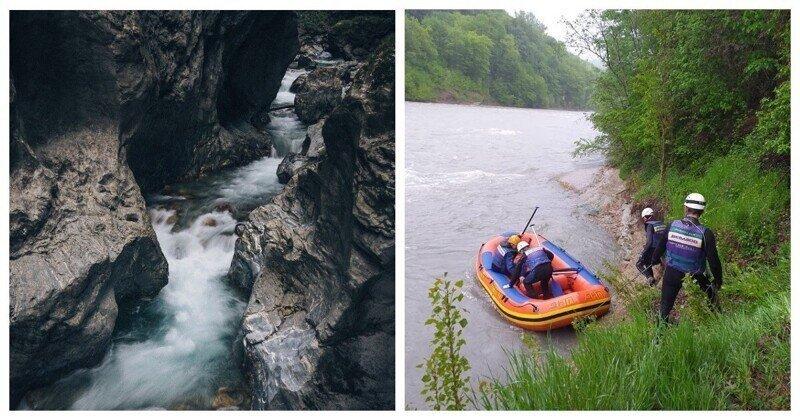 Одного за другим: горная река смыла туристов из Астрахани и Ставрополя