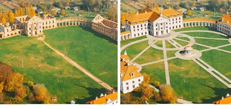 Как семь великих дворцов выглядели в зените славы