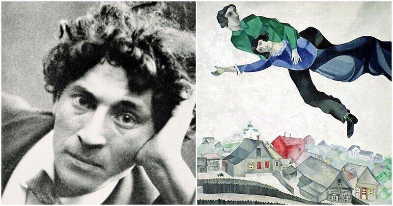 """Марк Шагал: интересные факты из жизни """"летящего"""" художника"""