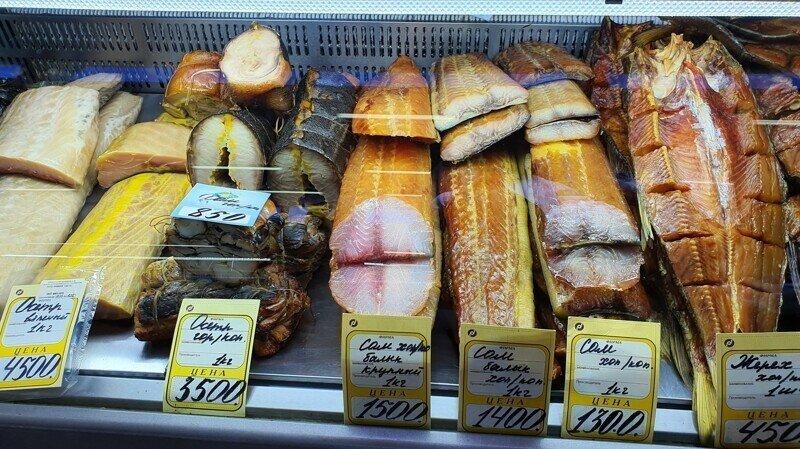 Рыбный рынок в Астрахани