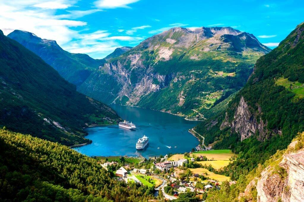 20 лучших фьордов Норвегии