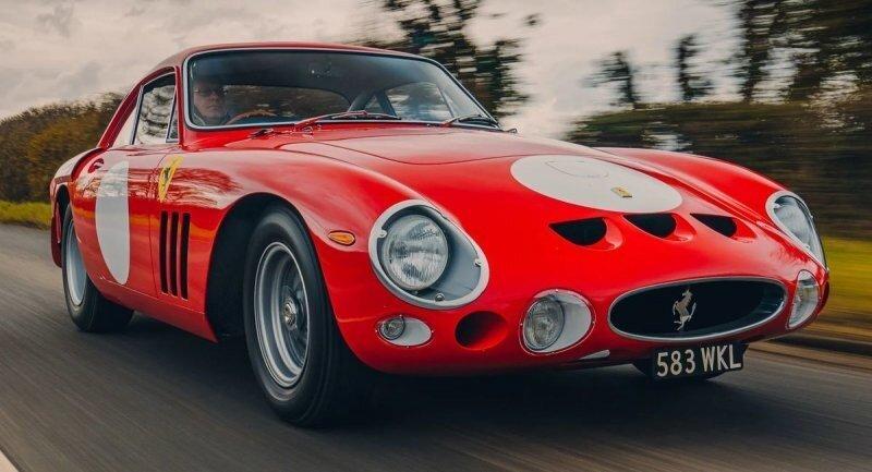 Впечатляющая реплика Ferrari 330 LMB, воссозданная до мельчайших деталей