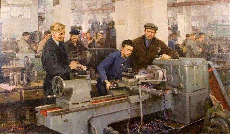 Виртуальная галерея. Искусство Советского Союза. Соцреализм