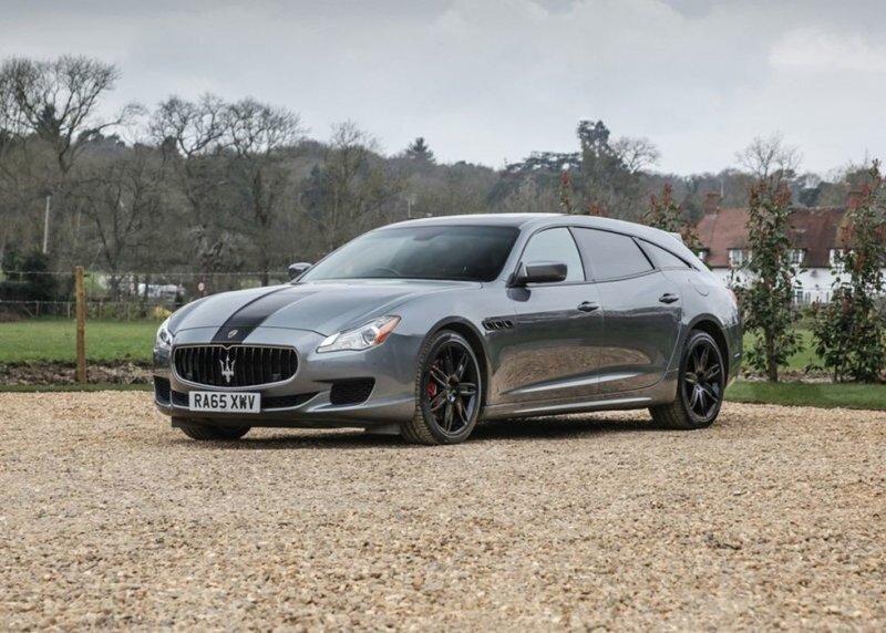 Хотите Maserati, но нужен вместительный багажник? Подумайте об этом Quattroporte Shooting Brake
