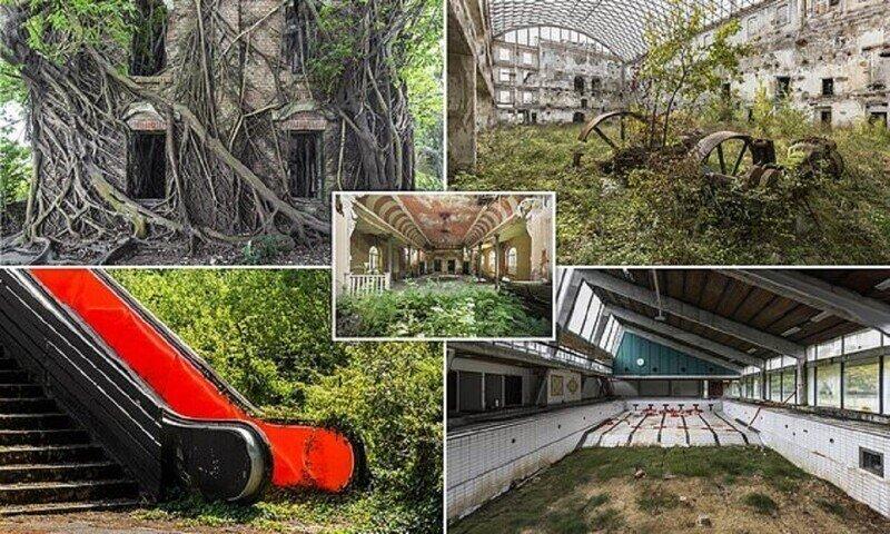 Магия заброшенных зданий