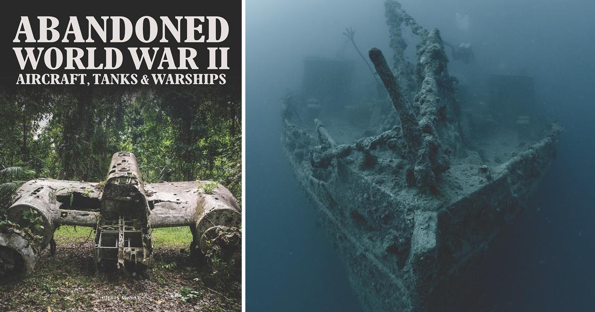 Брошенные самолеты, танки и военные корабли: что осталось после Второй мировой войны