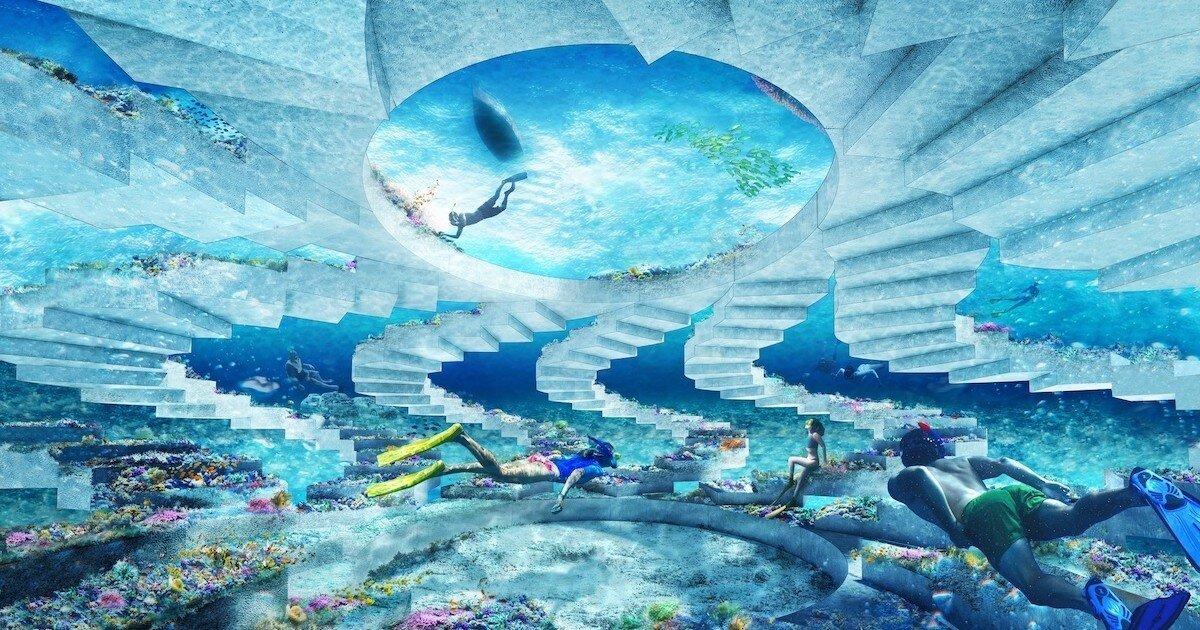 В Майами-Бич откроется парк подводных скульптур длиной 11 километров