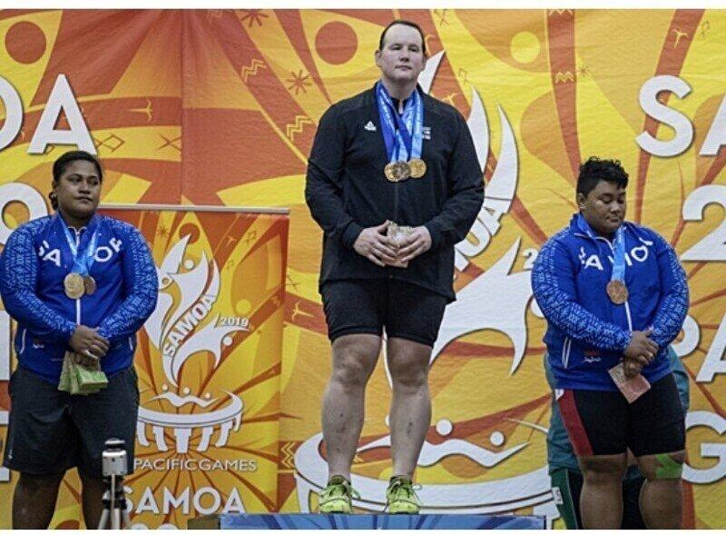 Первый трансгендер-участник Олимпийских игр с легкостью возьмет любой вес