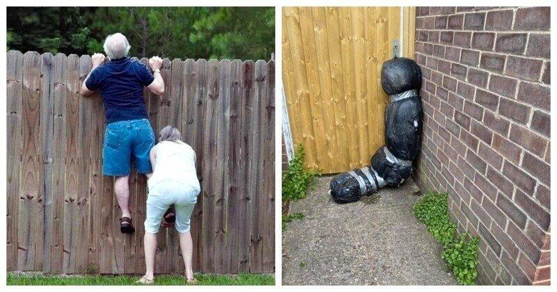 Любопытные соседи вызвали полицию из-за странного мешка
