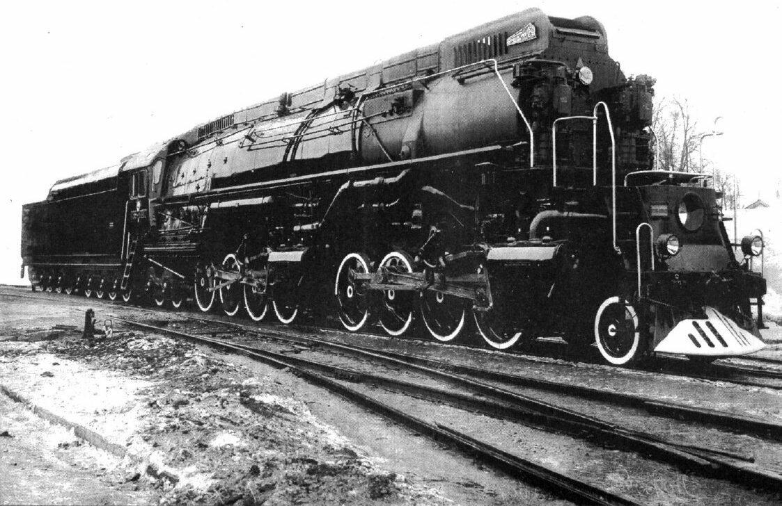 Самые большие паровозы Советского Союза