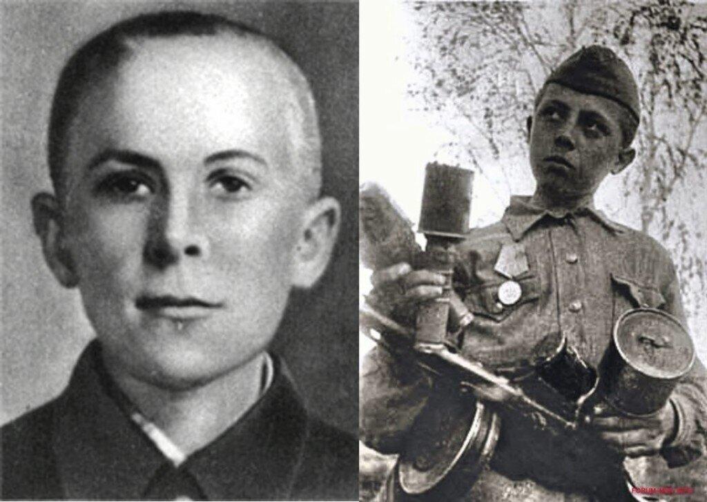 Подвиг Героя-пионера Марата Казея