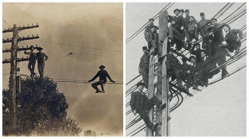Удивительная история о том, как в США появились первые телеграфные столбы