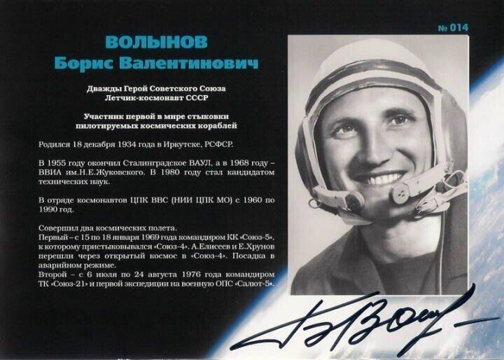 Первый в мире и единственный в СССР космонавт - еврей. Трудный путь Бориса Волынова в космос