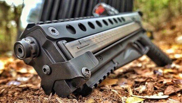 Пистолет на 50 патронов