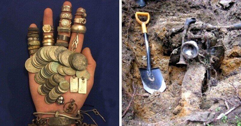 Находки, сделанные при помощи металлоискателя