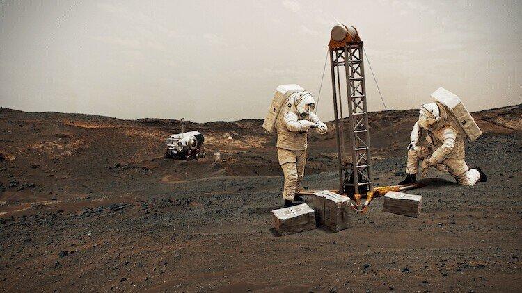 Шесть причин, по которым Марс наиболее перспективен для колонизации
