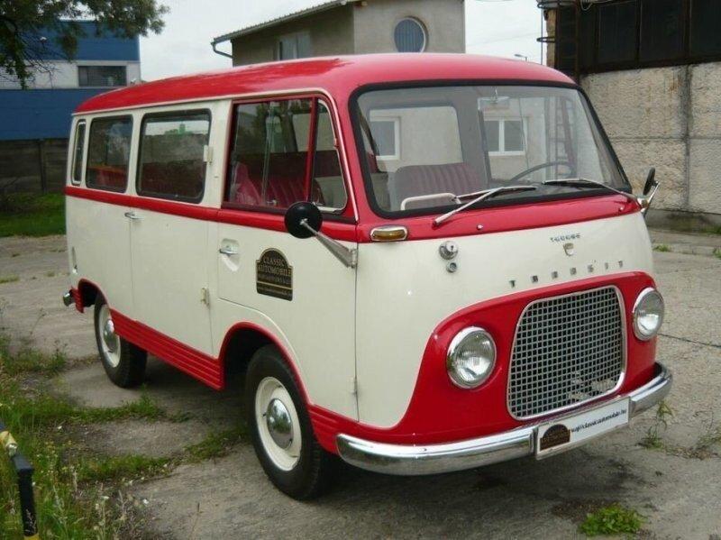 С чего начиналась легенда перевозок: самый первый Ford Transit