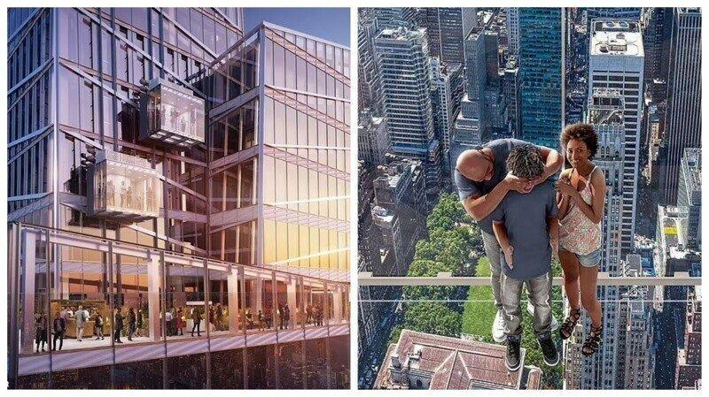 В Нью-Йорке появится уникальная смотровая площадка