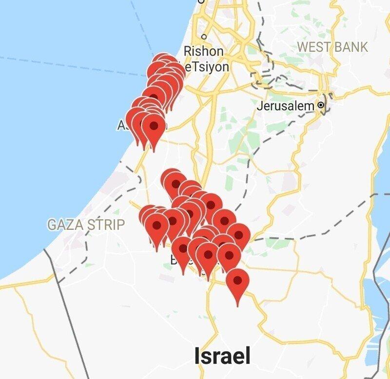 Коротко по Палестине. 17.05.2021