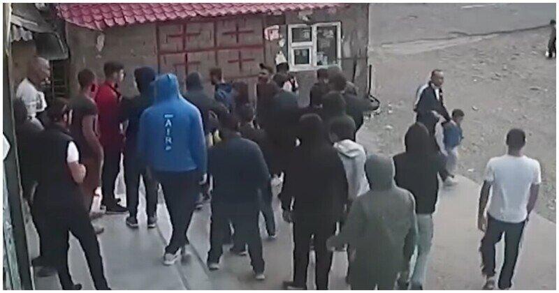 Азербайджанцы и грузины устроили массовую драку из-за непроданного в долг пива
