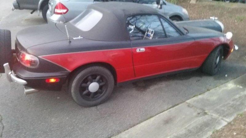 Mazda MX-5 «Art-Deco» — это уже не тюнинг, а настоящая автомобильная пытка