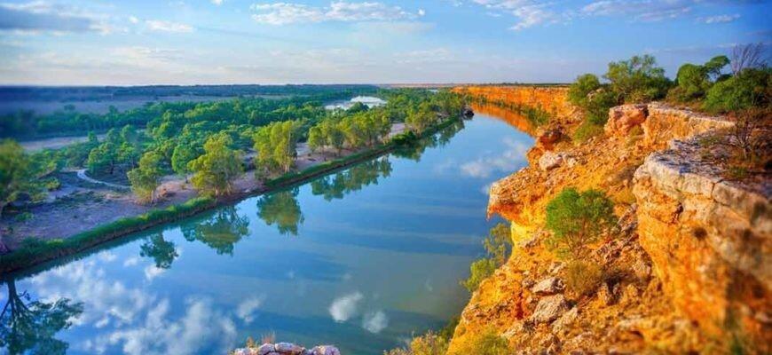 30 крупнейших рек Австралии