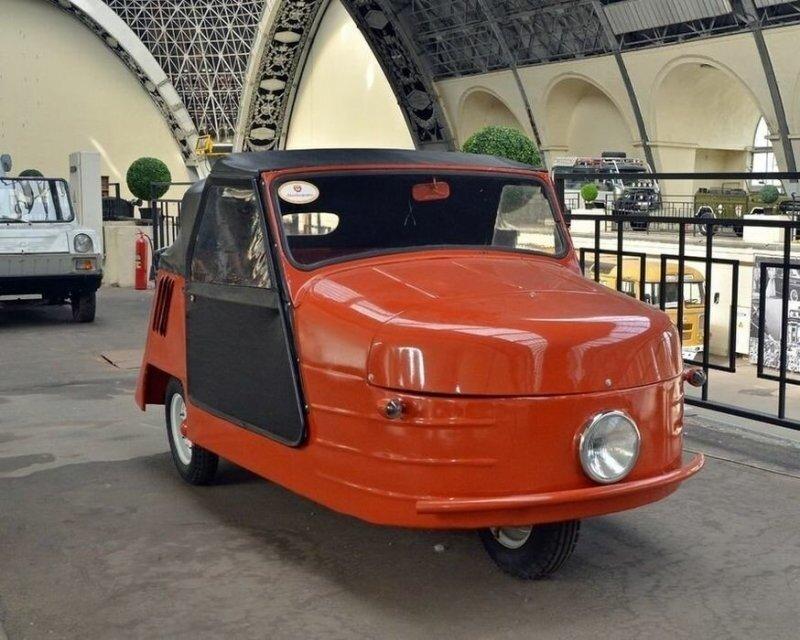 Над этими машинками смеялись, но их владельцев безгранично уважали: мотоколяска по прозвищу «Циклоп»