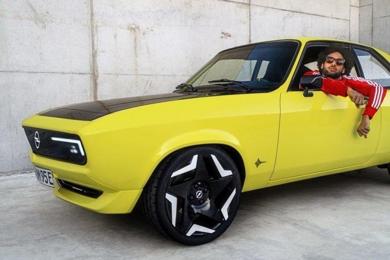Manta GSe Elektromod — классический Opel становится электрическим c новейшими технологиями