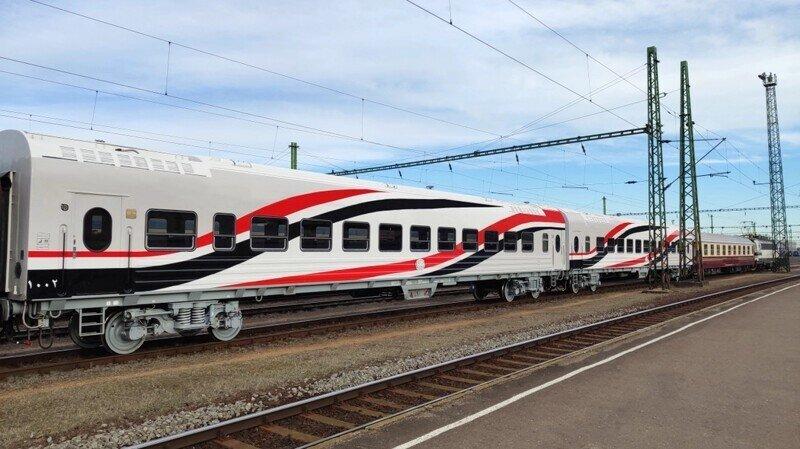 Египет внедрил российские железнодорожные вагоны в транспортную систему страны