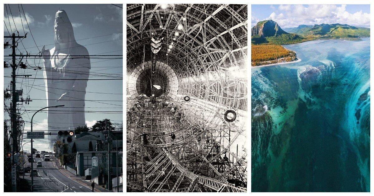 18 фото, которые своей нереальностью вводят смотрящего в ступор