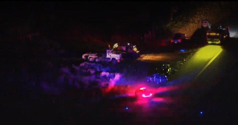 Во Флориде потерпел крушение пожарный вертолёт - есть жертвы: видео