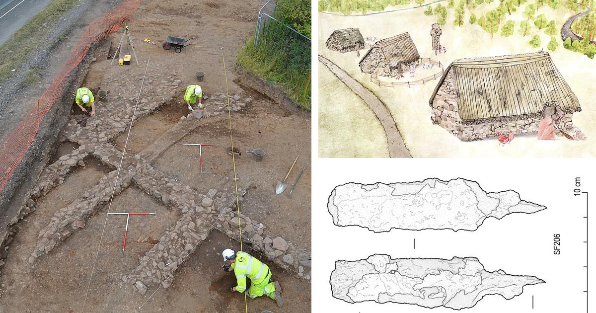 В Шотландии обнаружили затерянную средневековую деревню с древними артефактами