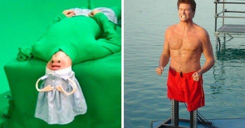 Забавные закулисные фотографии, которые выглядят как древние интернет-мемы