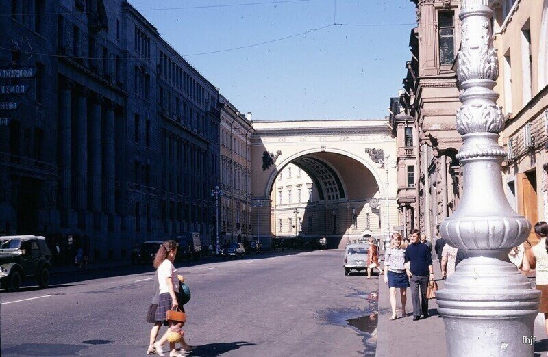 Ленинград 1970: город, люди, автомобили