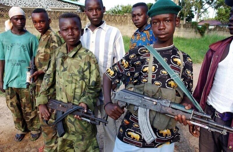 Про детей-солдат и эволюцию оружия
