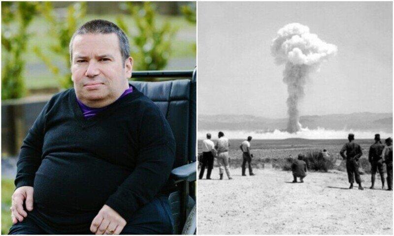 Британец обвиняет ядерные испытания в своей инвалидности