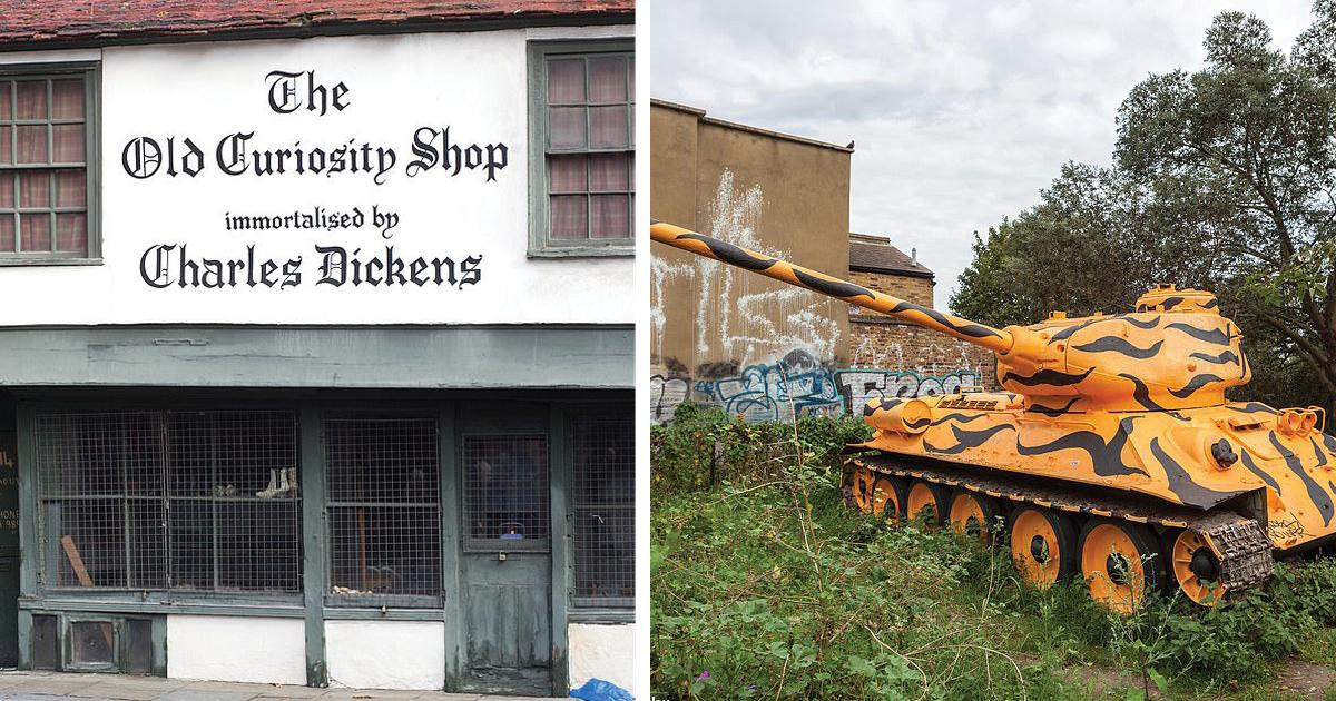 Заброшенный Лондон: сокровища и тайны английской столицы на страницах новой фотокниги