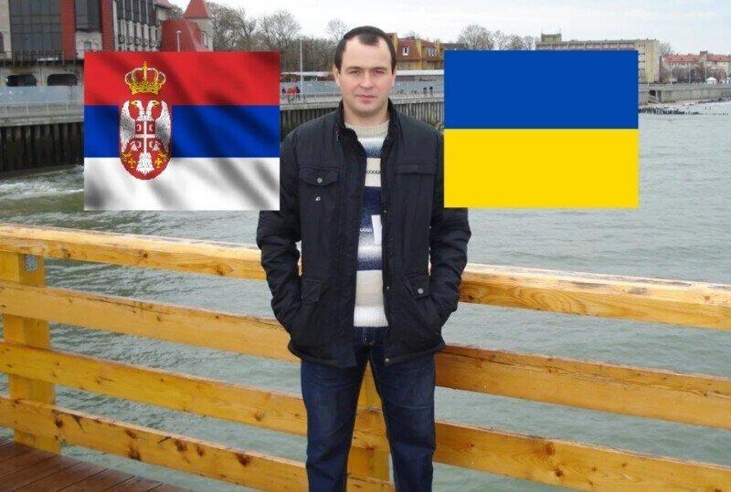 Заехал в Сербию и случайно подслушал разговор Серба и Украинца о Крыме и России