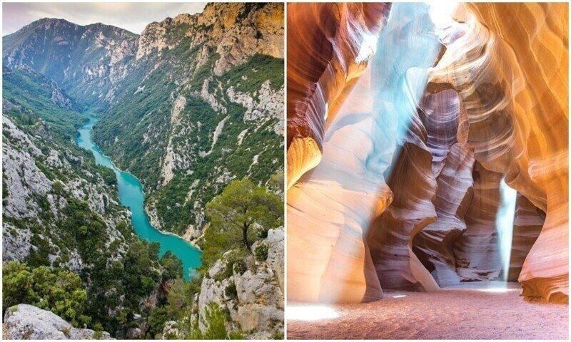 23 самых захватывающих каньона в мире