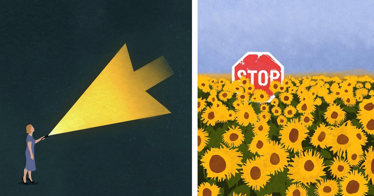 13 оригинальных постеров со скрытым смыслом