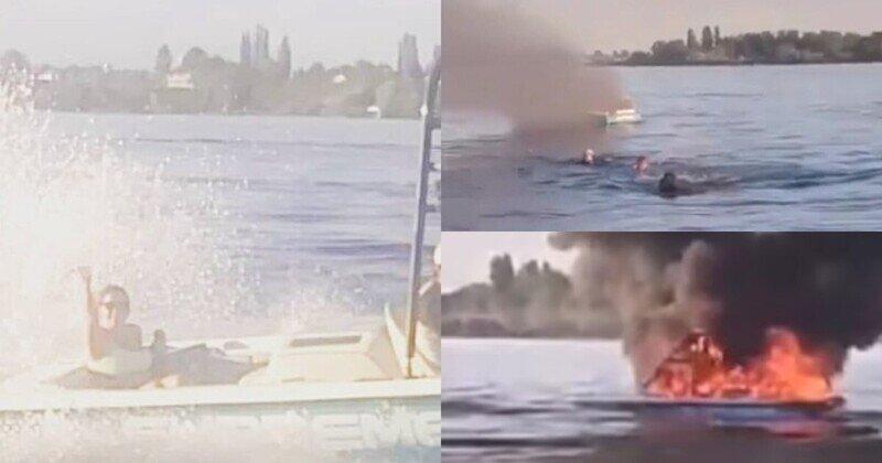 Команда яхты с радужным флагом спасла оскорблявших их гомофобов со взорвавшейся лодки