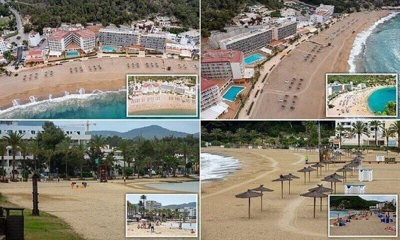 Курорт Ибица пустует из-за ограничений: фоторепортаж