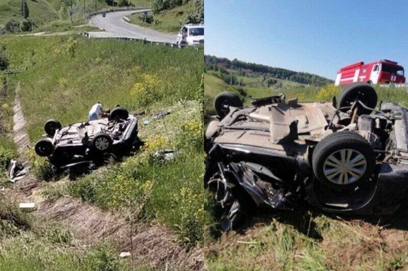 16-летний подросток без прав в Татарстане угнал машину и устроил ДТП с тремя жертвами