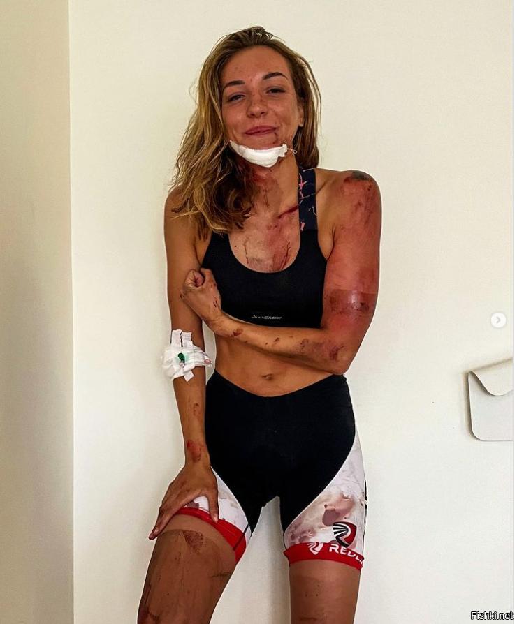 Белорусская триатлонистка Валентина Зеленкевич попала в аварию в Москве